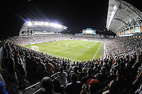 Overview of the PPL Park Stadium during the MLS All-Stars game.  The MLS All Stars Team defeated Chelsea FC 3-2 at PPL Park Stadium, Wednesday 25, 2012.