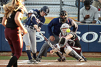 SAN ANTONIO, TX - FEBRUARY 25, 2017: The University of Texas at San Antonio Roadrunners fall to the Texas State University Bobcats 8-1 at UTSA Roadrunner Field. (Photo by Jeff Huehn)