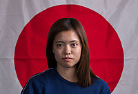 Kansas City, KS - July 24, 2018: Japan Flag Portraits