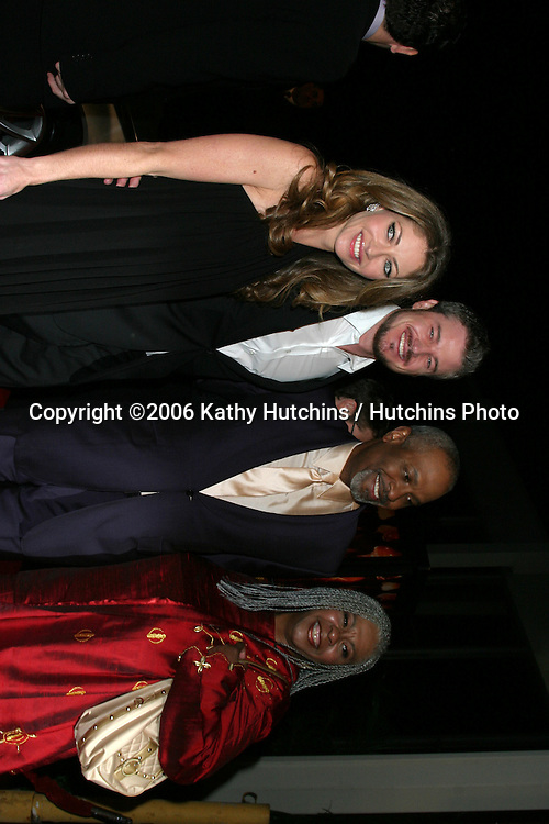 """Rebecca Gayheart, Eric Dane, and James Pickens Jr. & Wife.Los Angeles Premiere of """"Dreamgirls"""".Wilshire Theater.Los Angeles, CA.December 11, 2006.©2006 Kathy Hutchins / Hutchins Photo."""