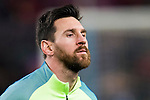 Lionel Andres Messi of FC Barcelona in training prior to the Copa del Rey 2016-17 Semi-final match between FC Barcelona and Atletico de Madrid at the Camp Nou on 07 February 2017 in Barcelona, Spain. Photo by Diego Gonzalez Souto / Power Sport Images