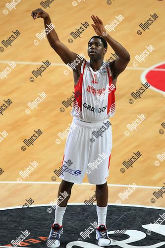 2010-10-05 / Basketbal / seizoen 2010-2011 / Euro Challenge / Antwerp Giants - Minsk / Trent Strickland..Foto: Mpics
