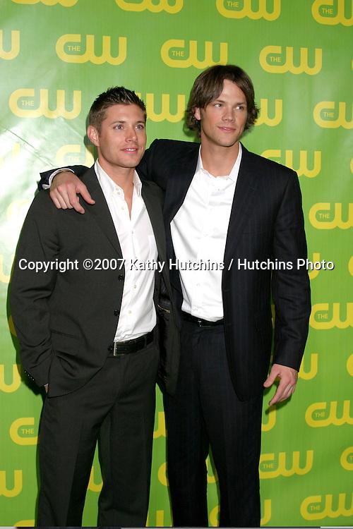 Jensen Ackles & Jared Padelecki .CW Television Critics Association Press Tour Party.Ritz-Carlton Hotel.Pasadena   CA.January 19, 2007.©2007 Kathy Hutchins / Hutchins Photo.