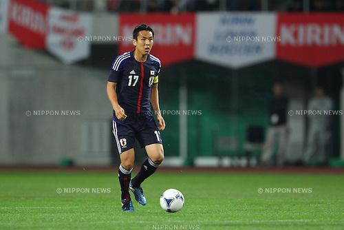 Makoto Hasebe (JPN), .MAY 23, 2012 - Football /Soccer : .Kirin Challenge Cup 2012 .between Japan 2-0 Azerbaijan .at Shizuoka Stadium Ecopa, Shizuoka, Japan. .(Photo by YUTAKA/AFLO SPORT) [1040]