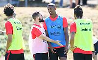 Marc Stendera (Eintracht Frankfurt) und Sebastien Haller (Eintracht Frankfurt) - 18.07.2018: Eintracht Frankfurt Training, Commerzbank Arena