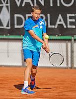 Netherlands, Rotterdam August 07, 2015, Tennis,  National Junior Championships, NJK, TV Victoria,  Rik Muller<br /> Photo: Tennisimages/Henk Koster