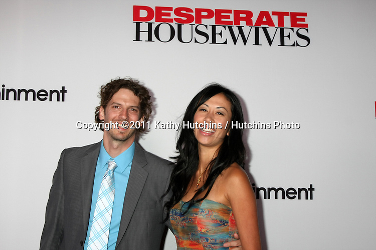 """LOS ANGELES - SEPT 21:  Daryl Crittenden arriving at the """"Desperate Housewives"""" Final Season Kick-Off Party at Wisteria Lane, Universal Studios on September 21, 2011 in Los Angeles, CA"""