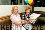 At the   Class of 1987  Balloonagh Secondary School Class reunion at The Ashe Hotel on Saturday were teachers Bernie Harrington and Ena Harty