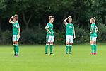 02.08.2020, wohninvest Weserstadion Platz 12, Bremen, GER,FSP, FLYERALARM, FFBL SV Werder Bremen vs  SV Henstedt-Ulzburg, <br /> <br /> <br /> <br />  im Bild<br /> <br /> Sophie Walter (WerderBremen8)<br /> Lina Hausicke (WerderBremen18)<br /> Verena Volkmer (WerderBremen10)<br /> Sophie Walter (WerderBremen8)<br /> <br /> <br /> Foto © nordphoto / Kokenge