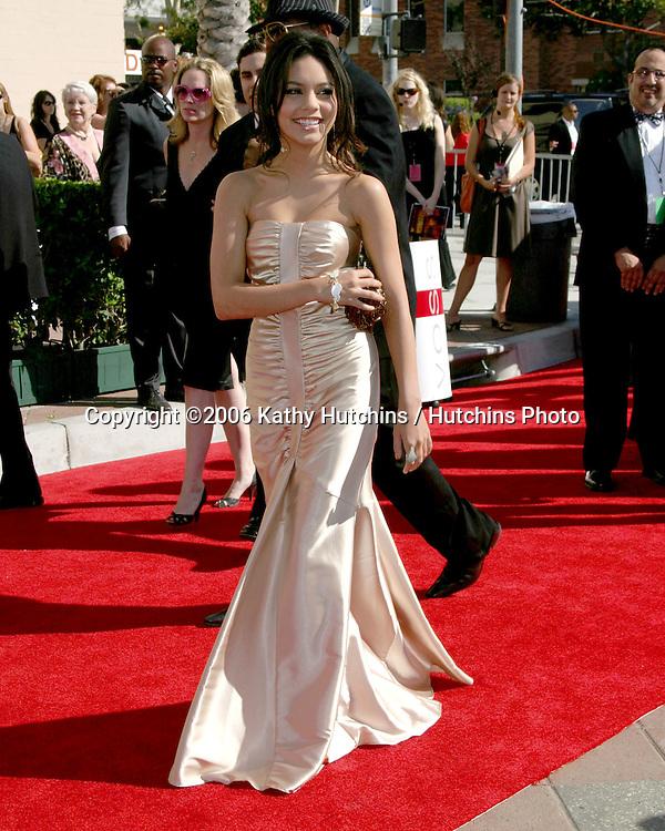 Vanessa Anne Hudgens.Creative Emmys 2006.Shrine Auditorium.Los Angeles, CA.August 19, 2006.©2006 Kathy Hutchins / Hutchins Photo....