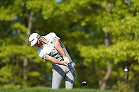 Dustin Johnson (USA) on the 13th tee during the 1st round at the PGA Championship 2019, Beth Page Black, New York, USA. 17/05/2019.<br /> Picture Fran Caffrey / Golffile.ie<br /> <br /> All photo usage must carry mandatory copyright credit (© Golffile | Fran Caffrey)
