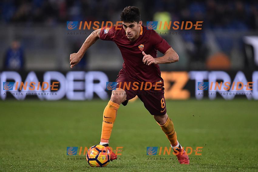 Diego Perotti Roma <br /> Roma 12-12-2016 Stadio Olimpico Football <br /> Campionato Serie A 2016/2017 <br /> AS Roma - Milan <br /> Foto Andrea Staccioli / Insidefoto