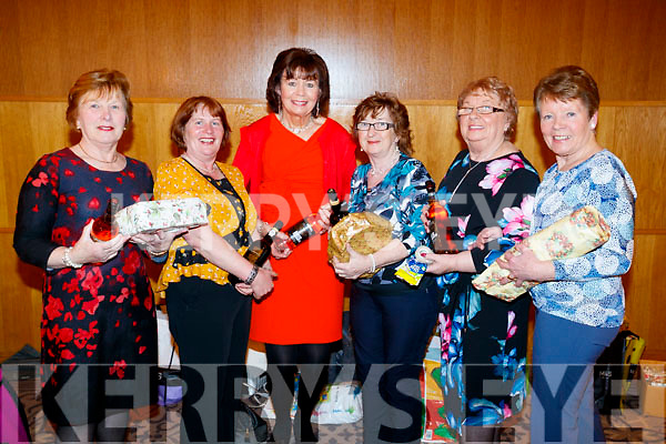 Margaret McKenna, Mary Geraldine Finucane, Phil Sexton, Sheila Hannon, Eileen Hannon and Margaret Murphy, organisers of the Abbeydorney/Kilfynn Senior Citizens Christmas Party at Ballyroe Heights, Tralee, on Sunday last.