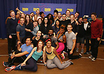 The cast & creative team during the Rehearsal Press Preview of the New Broadway  Musical on 'SpongeBob SquarePants'  on October 11, 2017 at the Duke 42nd Street Studios in New York City.