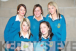 ..VARIOUS: Mounthawke student who checked out the various courses at the Open Day in the ITT Tralee on Monday. Front l-r: Janette Coffey and Steaphanie Horgan. Back l-r: Harley Burke, Niamh O'Connell and Kirsty McCarthy......   Copyright Kerry's Eye 2008
