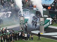 Teameinlauf New York Jets - 08.12.2019: New York Jets vs. Miami Dolphins, MetLife Stadium New York
