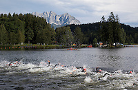 15 AUG 2010 - KITZBUEHEL, AUT - 2010 European Police Triathlon Championships (PHOTO (C) NIGEL FARROW)