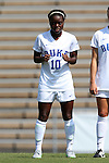 23 August 2015: Duke's Toni Payne. The Duke University Blue Devils played the Weber State University Wildcats at Fetzer Field in Chapel Hill, NC in a 2015 NCAA Division I Women's Soccer game. Duke won the game 4-0.