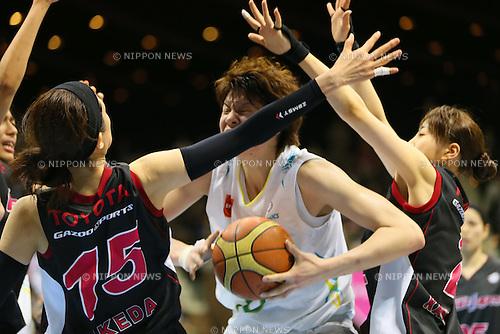 Ramu Tokashiki (Sunflowers), MARCH 19, 2013 - Basketball : The 14th Women's Japan Basketball League Playoffs Final Game #4 between Toyota Antelopes 61-72 JX Sunflowers at 2nd Yoyogi Gymnasium, Tokyo, Japan. (Photo by AFLO SPORT) [1156]