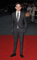 Lewis MacDougall at the 60th BFI London Film Festival &quot;A Monster Calls&quot; May Fair Hotel gala screening, Odeon Leicester Square cinema, Leicester Square, London, England, UK, on Thursday 06 October 2016.<br /> CAP/CAN<br /> &copy;CAN/Capital Pictures /MediaPunch ***NORTH AND SOUTH AMERICAS ONLY***
