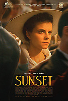 SUNSET (ORIG. TITLE-NAPSZALLTA (2018)<br /> FESTIVAL POSTER<br /> *Filmstill - Editorial Use Only*<br /> CAP/FB<br /> Image supplied by Capital Pictures
