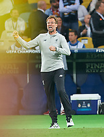 Juergen KLOPP, Trainer Liverpool ,<br /> REAL MADRID - FC LIVERPOOL<br /> Football UEFA Champions League, Finale, Kiew, Ukraine, May 26, 2018<br /> CL Season 2017 2018<br />  <br />  *** Local Caption *** © pixathlon<br /> Contact: +49-40-22 63 02 60 , info@pixathlon.de