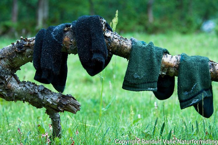 Sokker til tørk ---- Wet socks