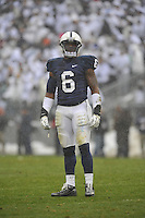 29 October 2011:  Penn State LB Gerald Hodges (6)..The Penn State Nittany Lions defeated the Illinois Fighting Illini 10-7 to at Beaver Stadium in State College, PA..