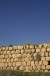 Israel, Shephelah, the city wall at Tel Lachish