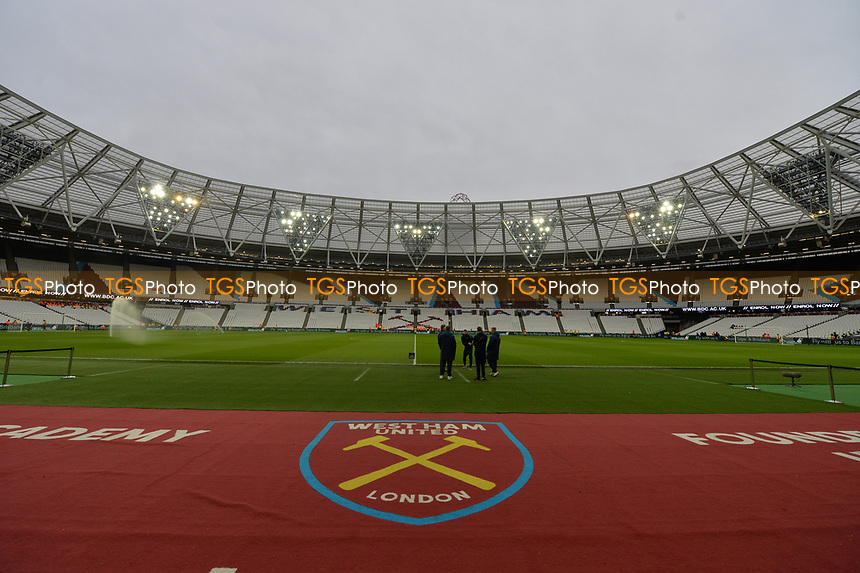 General view of the London Stadium during West Ham United vs Arsenal, Premier League Football at The London Stadium on 12th January 2019
