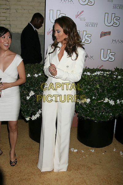 JENNIFER LOPEZ.US Weekly Presents Us' Hot Hollywood 2007 held at Sugar,  Hollywood, California, USA..April 26th, 2007.full length white jacket trousers wide leg flare suit .CAP/ADM/RE.©Russ Elliot/AdMedia/Capital Pictures