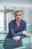 Vinay Dube, CEO of Jet Airways poses for a portrait in One IFC mall, Hong Kong, China, on 20 March 2018. Photo by Lucas Schifres/Studio EAST