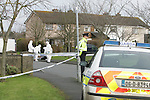 The scene of the fatal stabbing in Ashbourne in Co Meath on Wednesday Morning..Photo: Newsfile/Fran Caffrey.