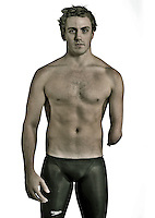 Matthew Cowdrey (AUS)<br /> Paralympic Portraits -  Swimmer<br /> Sydney Australia 2012<br /> London 2012 Paralympic Games<br /> &copy; Sport the library / Jeff Crow