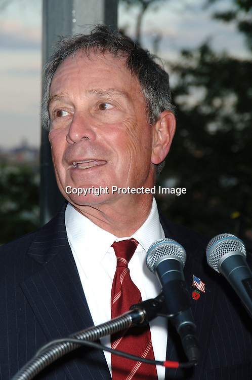 Mayor Michael Bloomberg ..at  Bette Midler's New York Restoration Project  5th Annual Picnic on May 22, 2006 at Highbridge Park...Robin Platzer, Twin Images..