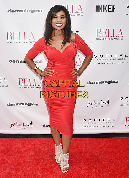 LOS ANGELES, CA - JUNE 23:  Recording artist Ezina attends the BELLA Los Angeles Summer Issue Cover Launch Party at Sofitel Los Angeles At Beverly Hills on June 23, 2017 in Los Angeles, California.<br /> CAP/ROT/TM<br /> &copy;TM/ROT/Capital Pictures