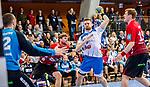 TVB 1898 Stuttgart - HSG Nordhorn Lingen / HBL / LIQUI MOLY 1.Handball-BundesligaSCHARRena / Stuttgart Baden-Wuerttemberg / Deutschland <br /> <br /> Foto © PIX-Sportfotos *** Foto ist honorarpflichtig! *** Auf Anfrage in hoeherer Qualitaet/Aufloesung. Belegexemplar erbeten. Veroeffentlichung ausschliesslich fuer journalistisch-publizistische Zwecke. For editorial use only.