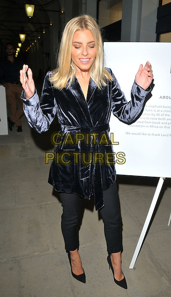 Mollie King at the &quot;Remembering Elephants&quot; VIP private view, La Galleria Pall Mall, Pall Mall, London, England, UK, on Tuesday 20 September 2016.<br /> CAP/CAN<br /> &copy;CAN/Capital Pictures