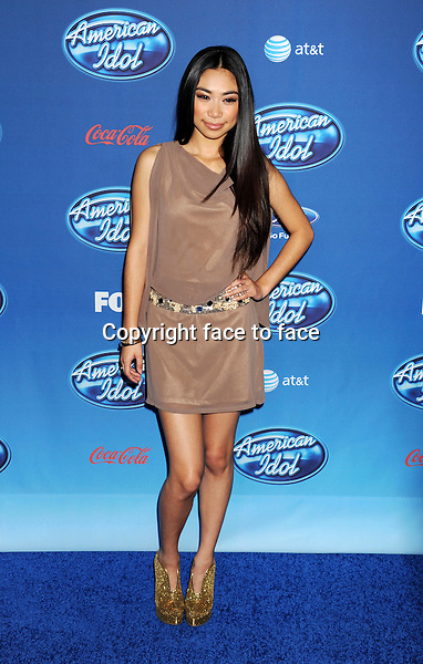 "Jessica Sanchez attends the FOX's ""American Idol"" Season 12 Premiere at Royce Hall on the UCLA Campus, Westwood, California, 09.01.2013...Credit: Mayer/face to face..- No Rights for USA, Canada and France -"