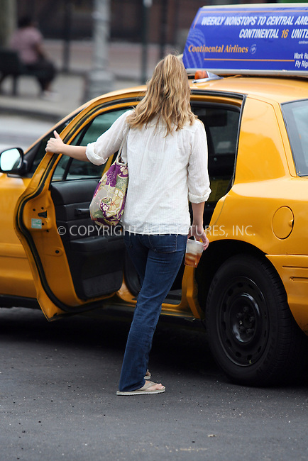 WWW.ACEPIXS.COM................New York City, September 19 2006....'Charlie's Angels' actress Drew Barrymore set out from her West Village home, jumped into a yellow cab and headed to the 'Village Natural' macrobiotic restaurant on Greenwich Avenue. Following a long lunch she came out with an unidentified male friend and went for a walk up 9th Avenue. She even bumped into some New York cops, chatting with them and signing autographs for them.....Please byline: PHILIP VAUGHAN/ACEPIXS.COM....For information please contact Philip Vaughan:..tel: 212 243 8787 or 646 769 0430..e-mail: info@acepixs.com..website: www.acepixs.com