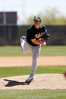 Shawn Haviland - Oakland Athletics - 2009 spring training.Photo by:  Bill Mitchell/Four Seam Images