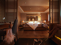 One of five guest suites which comprises the luxurious accommodation onboard