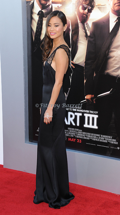 "Jamie Chung at the Los Angeles premiere of ""The Hangover Part 3"" held at Westwood Village Theater on May 20, 2013."