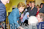 President McAleese meets Joan Griffin in Killorglin on Friday
