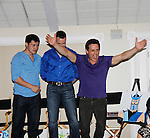 Christopher Sean - John Driscoll -  Christian LeBlanc - Actors from Y&Rl and Days donated their time to Southwest Florida 16th Annual SOAPFEST - a celebrity weekend May 22 thru May 25, 2015 benefitting the Arts for Kids and children with special needs and ITC - Island Theatre Co. as it presented A Night of Stars on May 23 , 2015 at Bistro Soleil, Marco Island, Florida. (Photos by Sue Coflin/Max Photos)