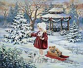 Dona Gelsinger, CHRISTMAS CHILDREN, paintings(USGE9409,#XK#)