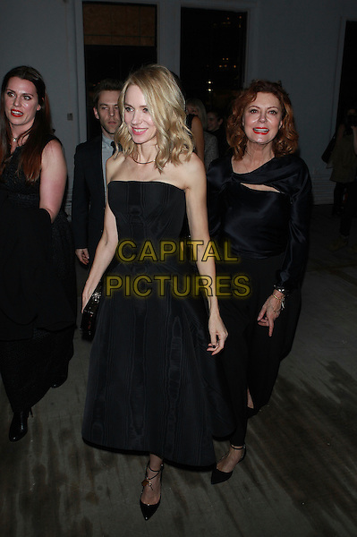 NEW YORK, NY - FEBRUARY 14: Naomi Watts and Susan Sarandon at Zac Posen a/w 2017 Fashion Show at Laight Street on February 14, 2017 in New York City. <br /> CAP/MPI99<br /> &copy;MPI99/Capital Pictures