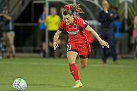 Portland, OR - Saturday July 30, 2016: Hayley Raso during a regular season National Women's Soccer League (NWSL) match between the Portland Thorns FC and Seattle Reign FC at Providence Park.