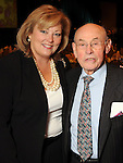 Susan Myers and Bill Morgan at the Holocaust Houston's Museum Guardian of the Human Spirit Award luncheon at the Hilton Americas Hotel Thursday Nov. 03,2011.(Dave Rossman/For the Chronicle)