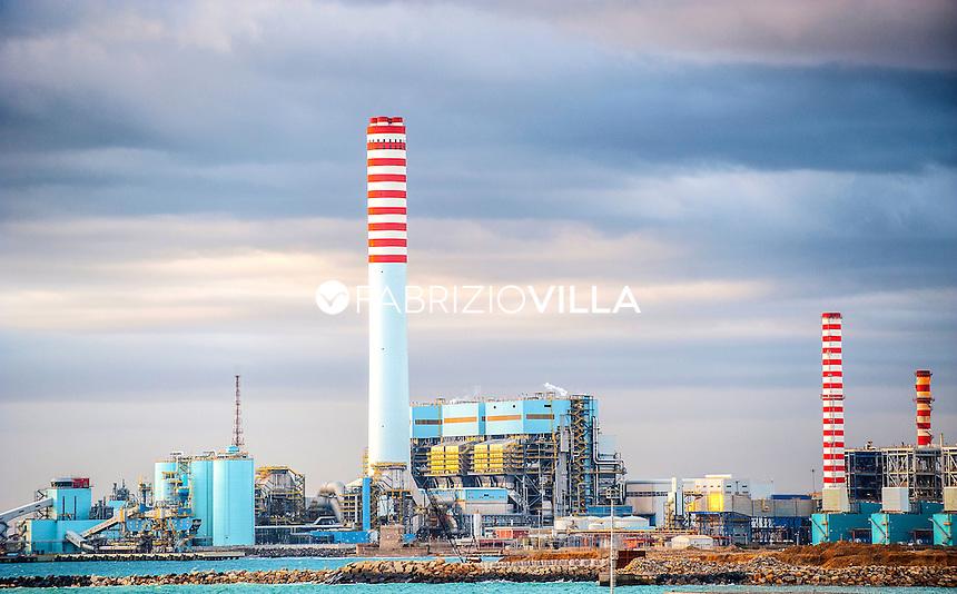 Impianti siderurgici Ilva di Taranto, Italia